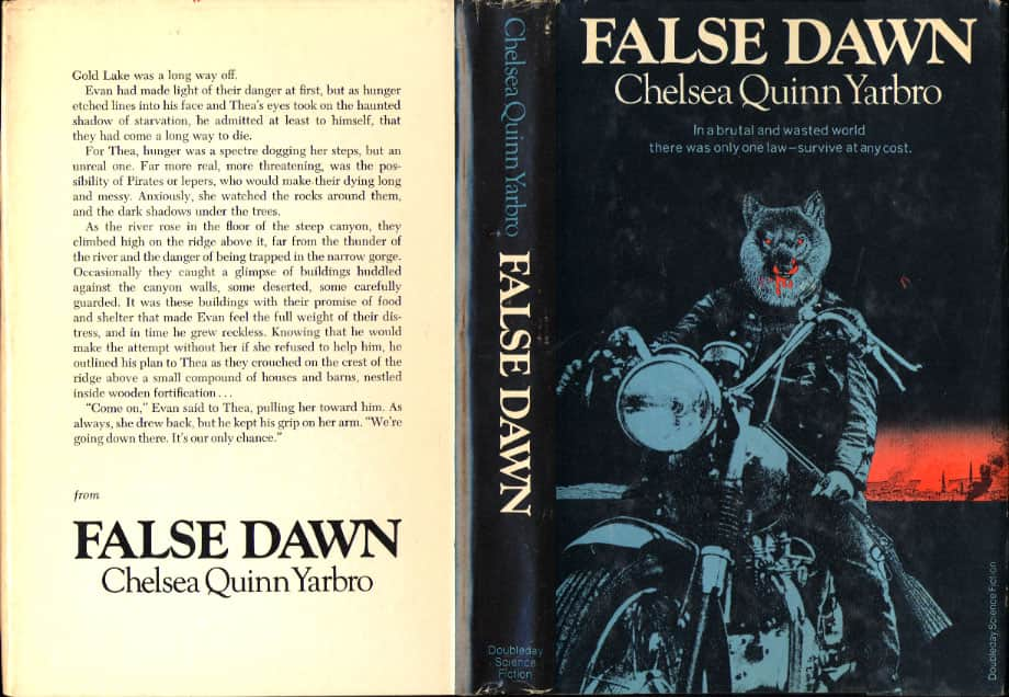 False Dawn - Chelsea Quinn Yarbro cover