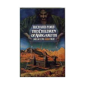 The Children of Ashgaroth  - Richard Ford cover