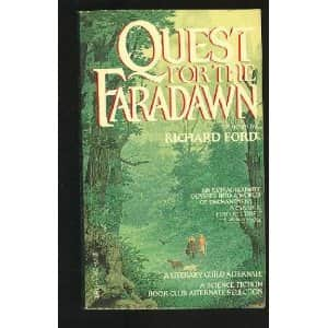 Quest for the Faradawn - Richard Ford cover