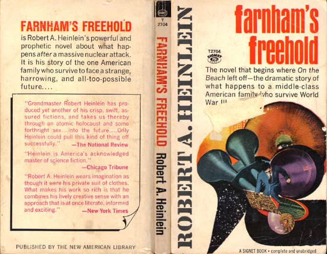 Farnhams Freehold - Robert A. Heinlein cover