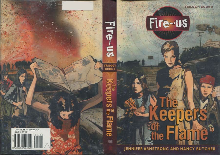 The Keepers of the Flame  - Nancy Butcher / Jennifer Armstrong cover