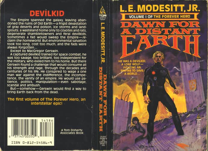 Dawn for a Distant Earth - L. E. Modesitt Jr. cover