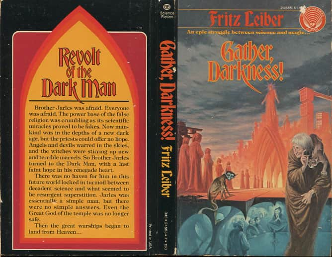 Gather  Darkness! - Fritz Leiber cover