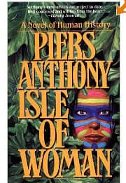 Isle of Woman - Piers Anthony cover