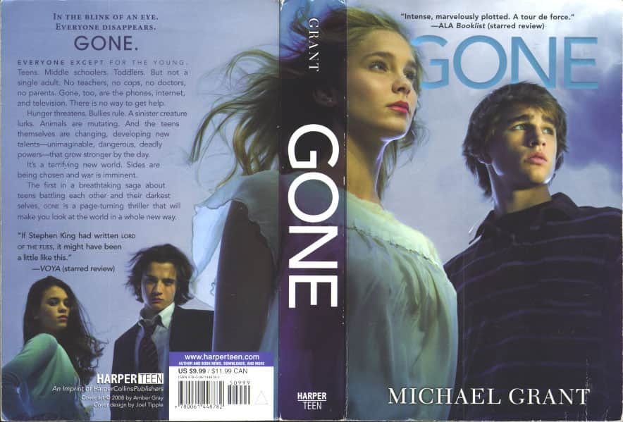 Gone - Michael Grant cover