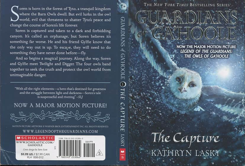 The Capture  - Kathryn Lasky cover
