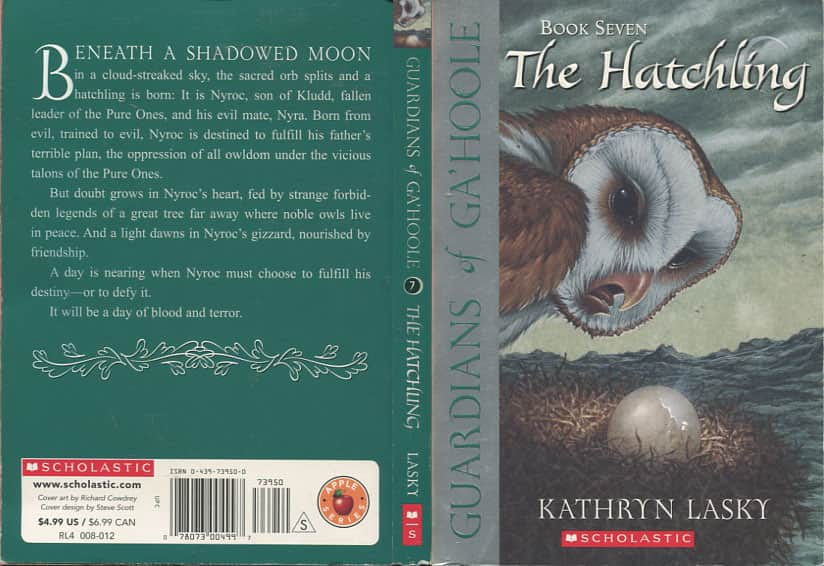 The Hatchling  - Kathryn Lasky cover