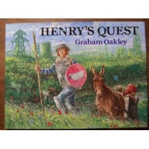 Henry's Quest - Graham Oakley cover