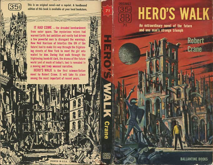 Hero's Walk - Robert Crane cover