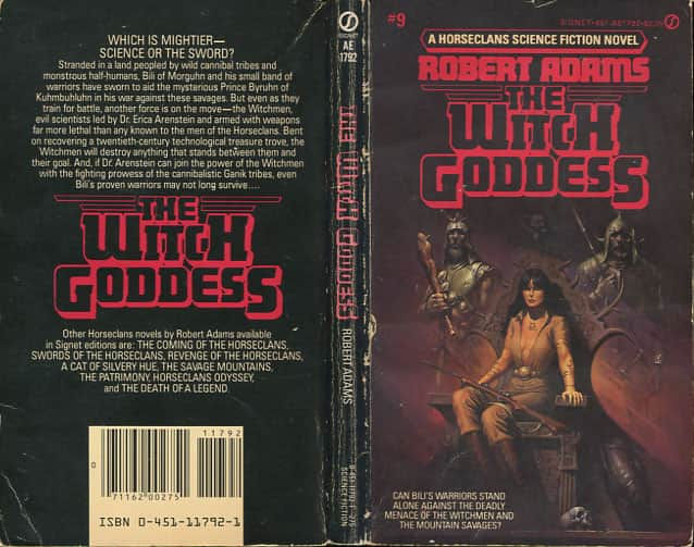 The Witch Goddess  - Robert Adams cover