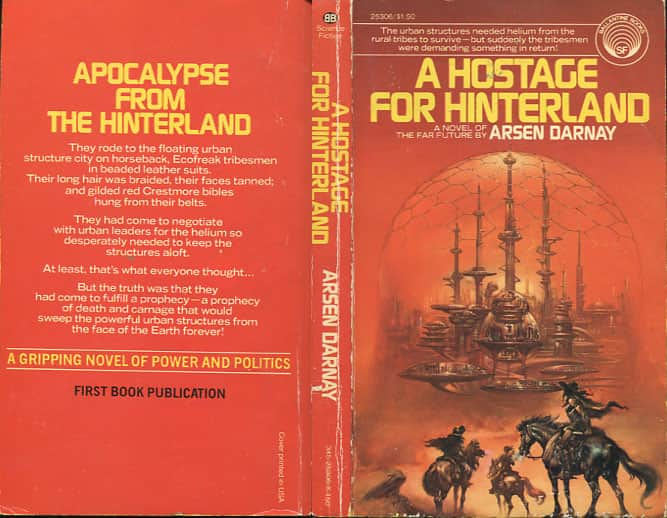 Hostage for Hinterland - Arsen Darnay cover
