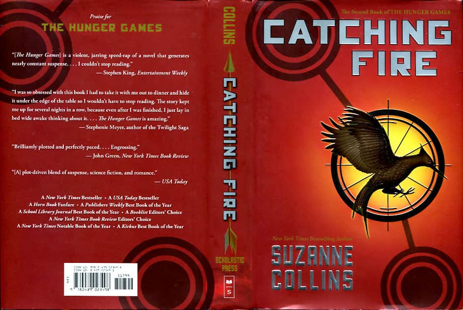 Catching Fire - Suzanne Collins cover