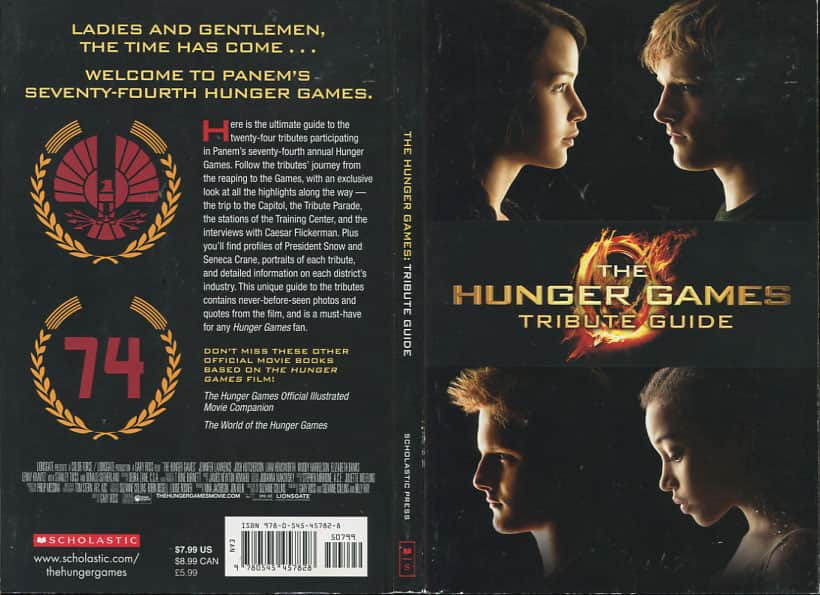 The Hunger Games Tribute Guide - Emily Seife cover ...