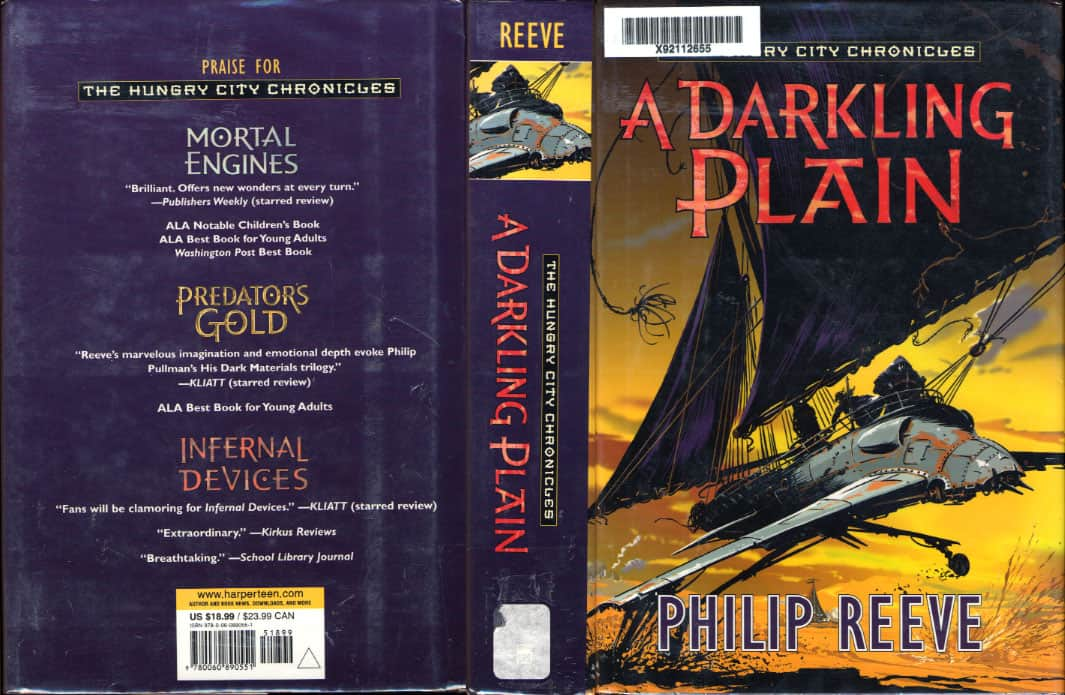 A Darkling Plain - Philip Reeve cover