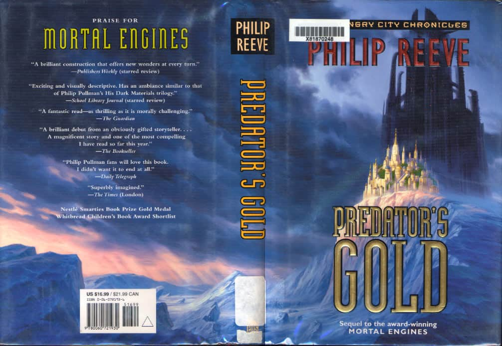 Predator's Gold - Philip Reeve cover