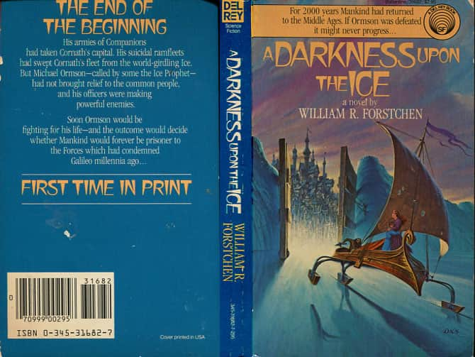 A Darkness Upon the Ice  - William R. Forstchen cover