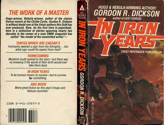 In Iron Years - Gordon R. Dickson cover