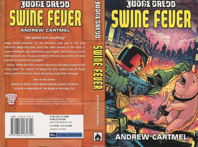 Swine Fever - Amdrew Cartmel cover