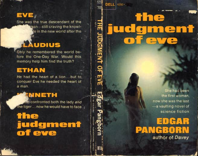The Judgment of Eve  - Edgar Pangborn cover