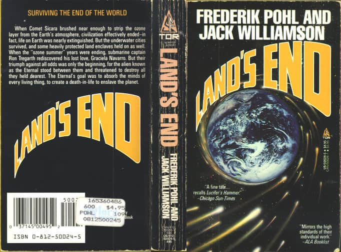 Land's End - Frederik Pohl / Jack Williamson cover