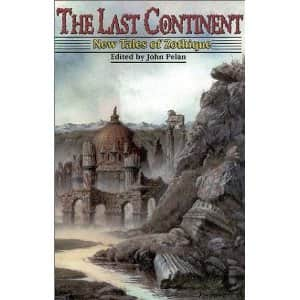The Last Continent: New Tales of Zothique  - John Pelan cover