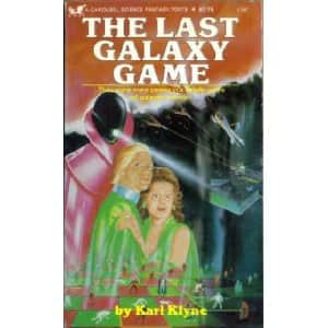 The Last Galaxy Game  - Karl Klyne cover