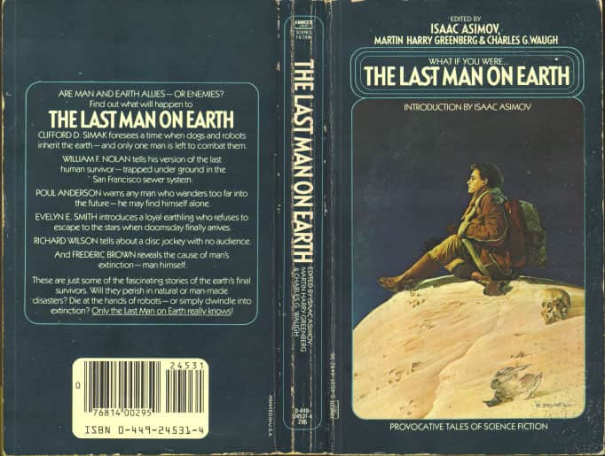 The Last Man on Earth  - Anthology / Isaac Asimov cover