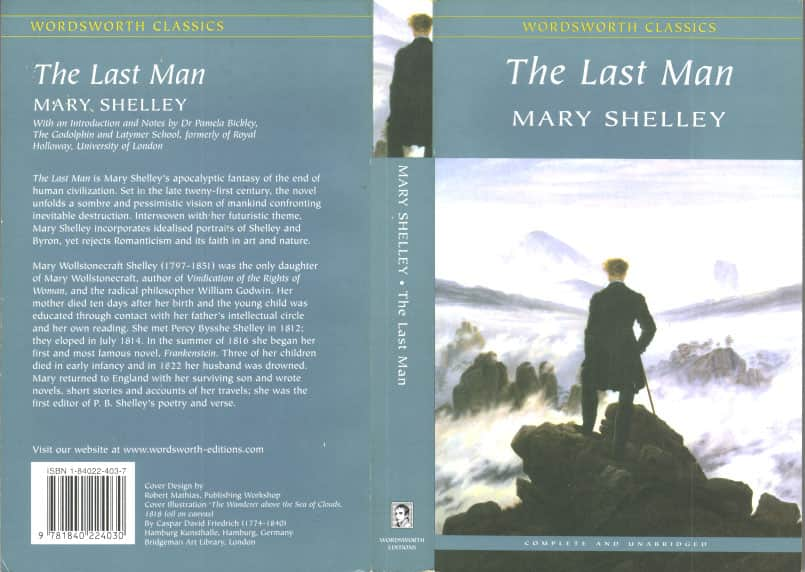 The Last Man  - Mary Shelley cover
