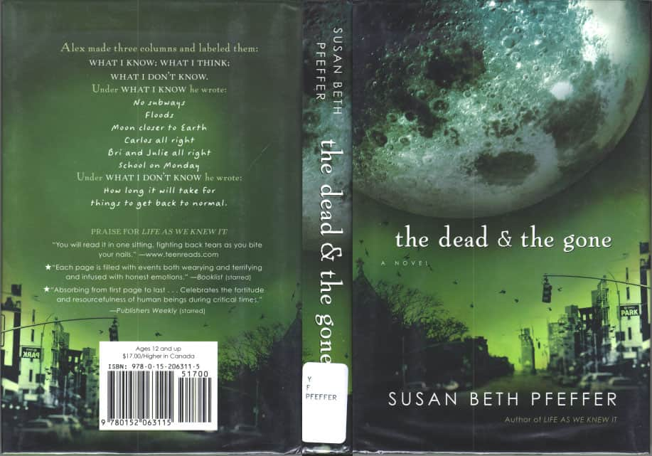 The Dead and The Gone  - Susan Beth Pfeffer cover