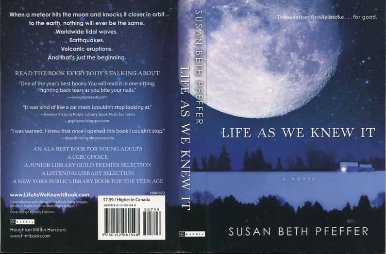 Life as We Knew It - Susan Beth Pfeffer cover