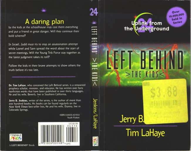 Uplink from the Underground - Jerry B. Jenkins / Tim LaHaye cover