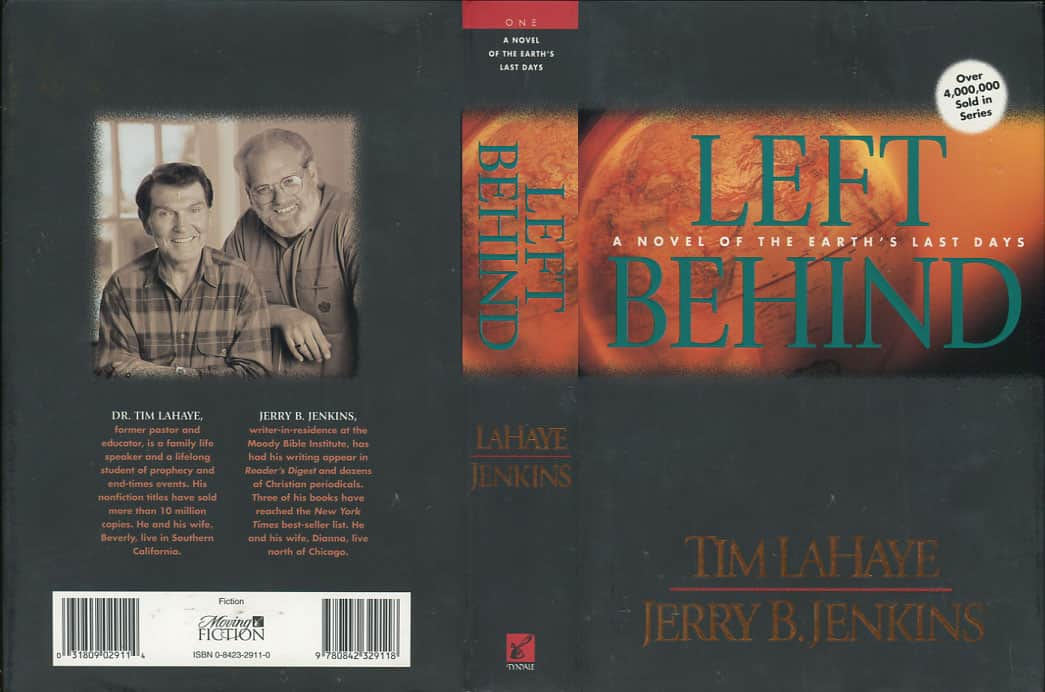 Left Behind - Jerry B. Jenkins / Tim LaHaye cover