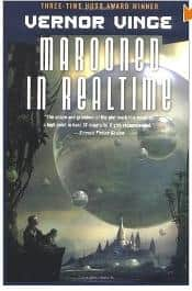 Marooned in Realtime - Vernor Vinge cover