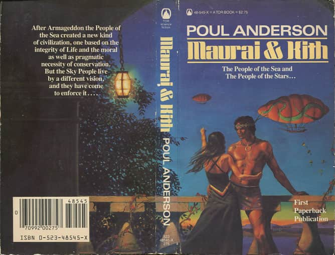 Maurai and Kith - Poul Anderson cover