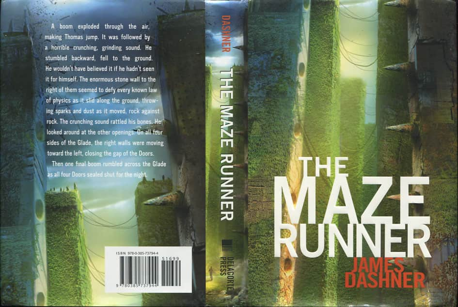The Maze Runner  - James Dashner cover