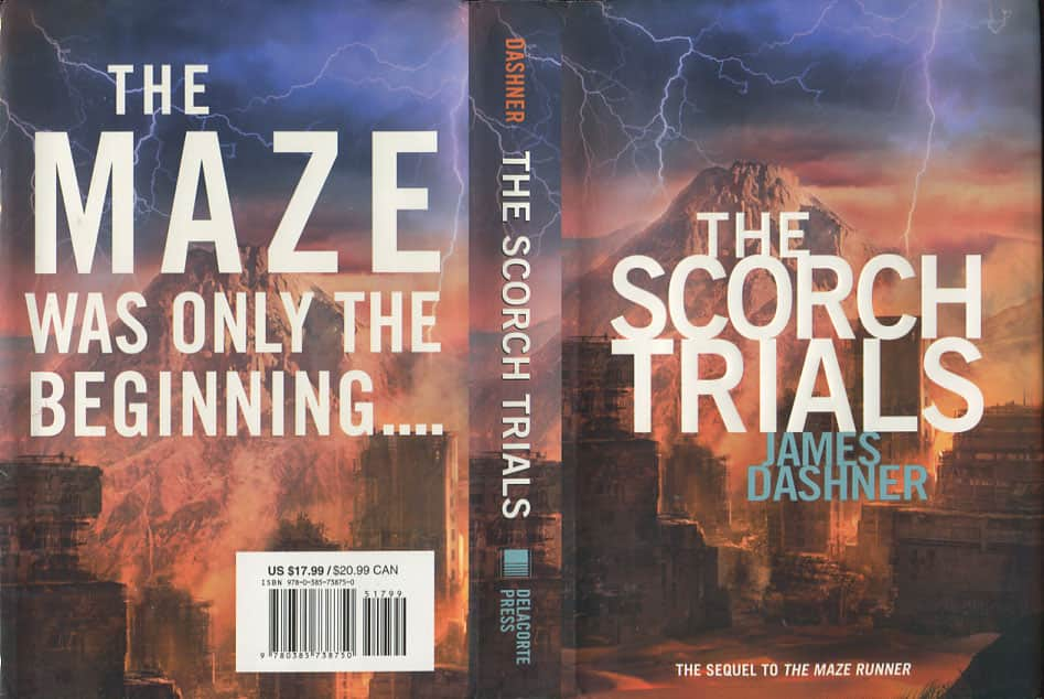 The Scorch Trials  - James Dashner cover