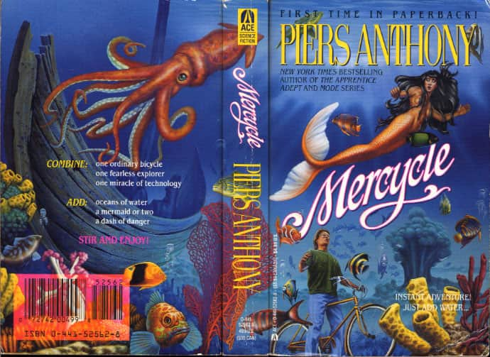 Mercycle - Piers Anthony cover