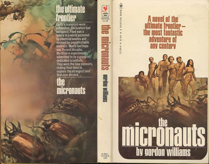 The Micronauts  - Gordon M Williams cover