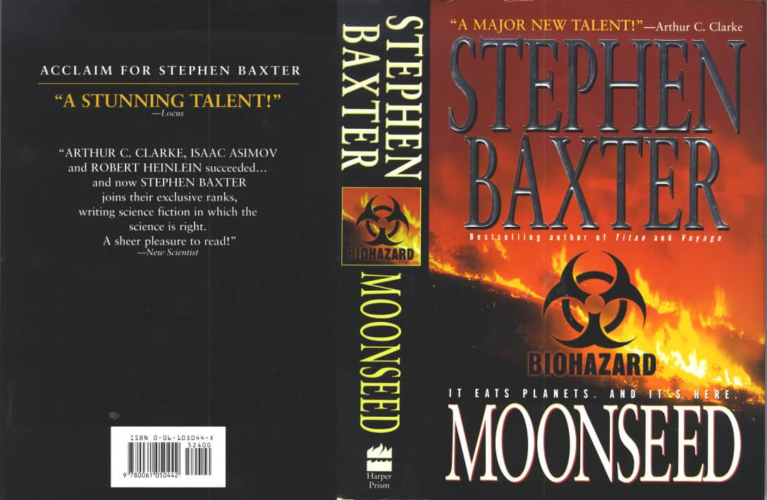 Moonseed - Stephen Baxter cover