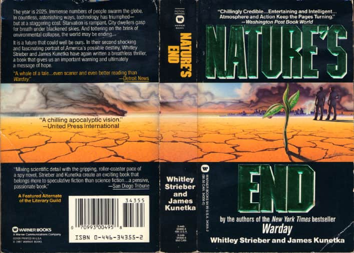Nature's End - Whitley Strieber / James Kunetka cover