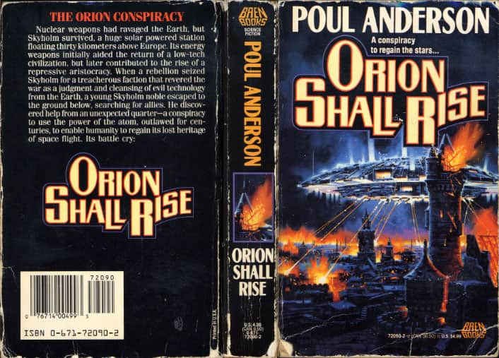 Orion Shall Rise - Poul Anderson cover
