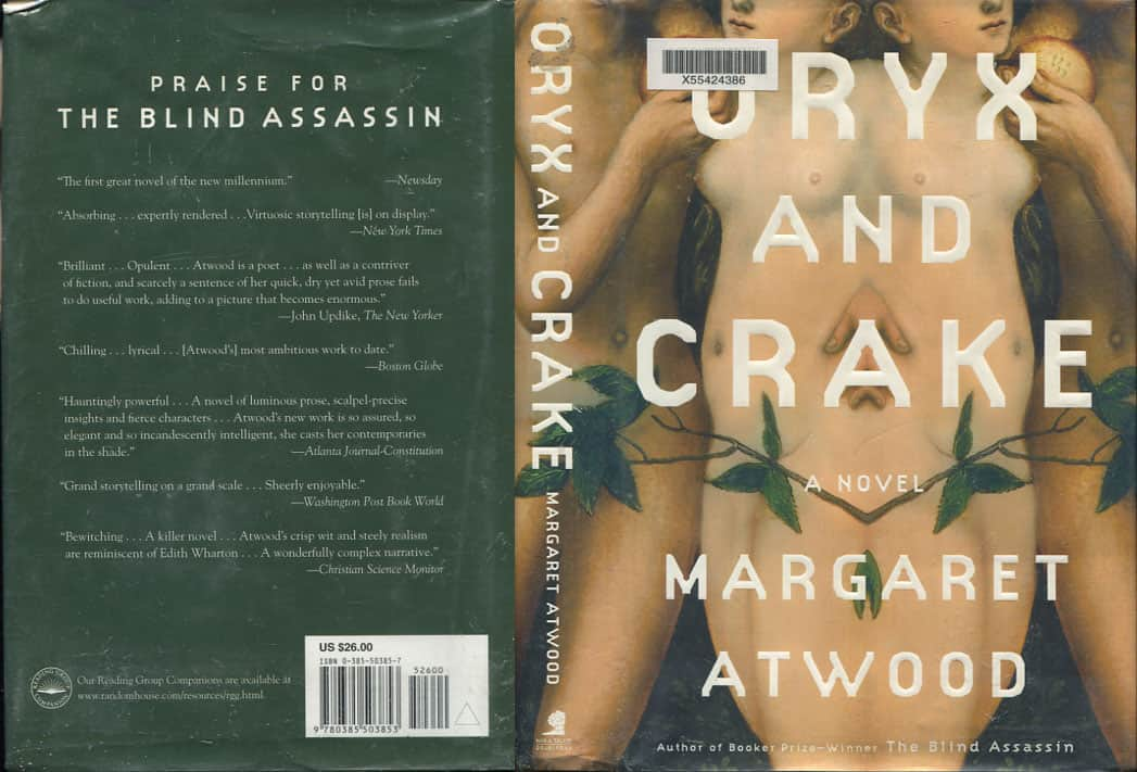 oryx crake summary essay Oryx and crake study guide contains a biography of margaret atwood, literature essays, quiz questions, major themes, characters, and a full summary and analysis.