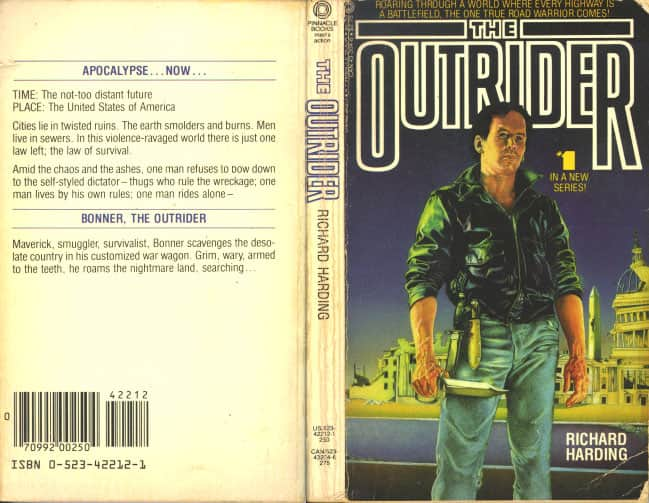 The Outrider  - Richard Harding cover