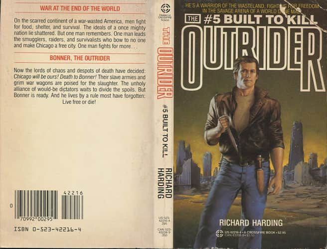 Built to Kill - Richard Harding cover