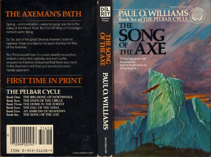 Song of the Axe - Paul O. Williams cover