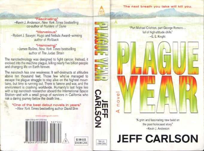 Plague Year - Jeff Carlson cover