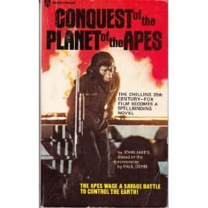 Conquest of the Planet of the Apes - John Jakes cover
