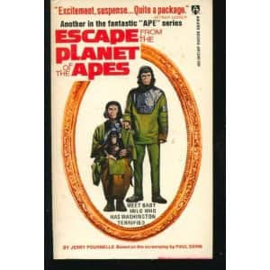 Escape from the Planet of the Apes - Jerry Pournelle cover