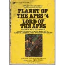 Lord of the Apes - George Alec Effinger cover