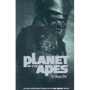 Planet of the Apes: The Human War - Ian Edginton cover